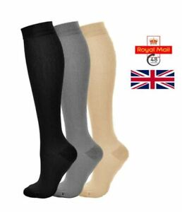 Unisex Medical Compression Socks Varicose Veins Calf Leg Support Stocking Sports
