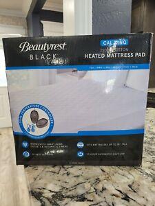 Beautyrest Black Dual Zone Heated Mattress Pad 20 Heat Settings 2Control CALKİNG