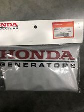 New Honda Generator Cover 08P57-ZT3-00S SILVER HONDA LOGO