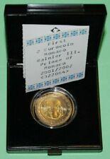 Monaco Rainier III. 2 EURO 2001 + Etui +SRH-Zertifikat, UNC.-