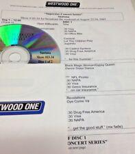 RADIO SHOW: SUPERSTAR CONCERT LIVE 8/23/03 SANTANA 12 TUNE LIVE 2 CD
