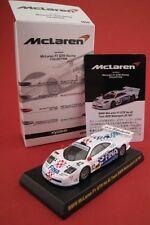 """McLaren F1 GTR """"Team BMW Motorsport"""" Lm 1997 Kyosho Japan escala 1:64 emb.orig"""