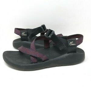 Chaco Water Sandal Made In Colorado, USA Aztec Slingback Purple Strappy Womens 8