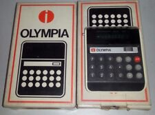 CALCOLATRICE OLYMPIA CD 60 1974 OLD CALCULATOR NUOVA IMBALLATA VINTAGE