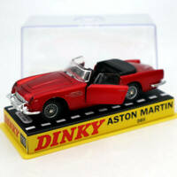 Atlas 1:43 Dinky toys 110 Aston Martin Red Diecast Models Collection