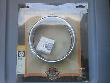 "NOS Harley Davidson 1963-2003 XL Models 5 3/4"" Headlamp Ring 69625-99"