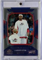 2004 Upper Deck SP Game Used Edition Season in Review Lebron James #151, #'d/999