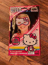 Sanrio Hello Kitty Glow Glasses Neon Mask Toy Mask Costume Eye Mask 2014 Nib