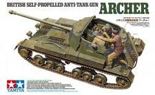 TAMIYA 35356 - 1/35 WWII British Self Propelled ANTI TANK GUN Archer-NUOVO