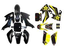 Honda CRF50 Pit Dirt Bike Plastics Fender Kit +3M Graphic Decal Sticker 50-125cc