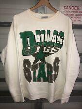 Vintage 90s Dallas Stars Graphic Big Logo Sweatshirt Nhl Hip Hop Rap Xl Usa Og
