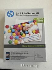 Hp Card & Invitation Kit - 25 Sheets and Envelopes