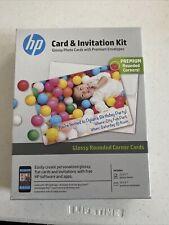 HP Card & Invitation Kit - 25 Sheets and Envelopes