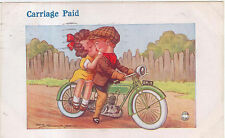 Comic Motorcycle Carriage Paid Reg Maurice Regent 4684