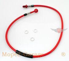 KREIDLER FLORETT RS RMC CONDUITE DE FREIN Flex en acier gestion Rouge ABE 780mm