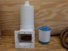 25' Sq Skim Filter Hose Clamps