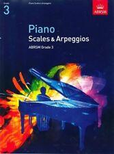 ABRSM Piano Scales & Arpeggios, Grade 3 - Same Day P+P