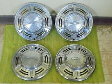 "1970 Chevy Chevelle Hub Caps 14"" Set of 4 Chevrolet Wheel Covers 70 Hubcaps"