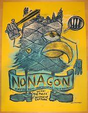 2009 Monagon - Chicago Silkscreen Concert Poster S/N by Dan Grzeca