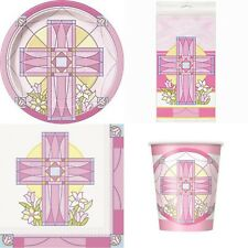 Communion Girls Pack Kit Party Supplies Decorations x 8