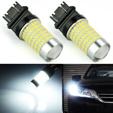 JDM ASTAR 2x 3157 3156 144-SMD LED C at Bulb 2400LM Reverse Backup Lights White