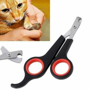 Pets Dog Cat Nail Clippers Scissors Trimmer Toe Claw Shears Cutter Grooming Tool