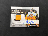 2006-07 SP GAME USED HANNU TOIVONEN INKED SWEATERS JERSEY AUTO #ed 67/100