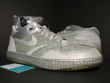 2011 Nike Air SKY FORCE 88 LOW LEATHER QS 1 MIGHTY CROWN FLINT GREY SILVER DS 12