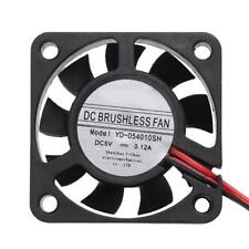 Waterproof 5V 40x40x10mm Low Noise Brushless DC Cooling Fan Radiator PC Cooler
