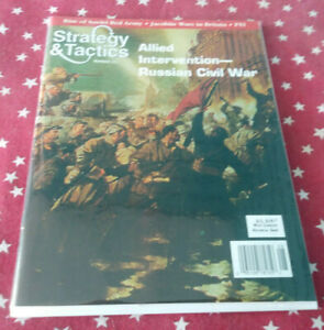Strategy & Tactics Magazine Decision Games Unpunched #211 Allied Intervention