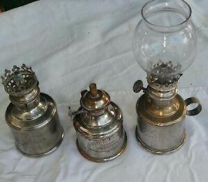 3 Lampes pigeons rat de cave