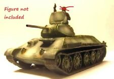 Milicast BR20 1/76 Resin WWII Russian T34 Model 1941-2 (STZ Factory)(Barrikady)
