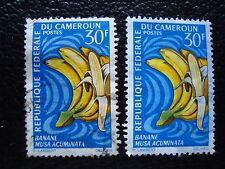 cameroon - stamp yvert and tellier N° 449 x2 obl (A33) stamp Cameroon (N)