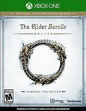 The Elder Scrolls Online: Tamriel Unlimited - Microsoft Xbox One Game - Complete