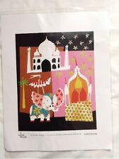 Disney It's A Small World Nordstrom India Art Print