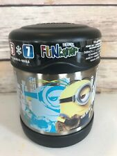 NEW Thermos Funtainer Character Minions Despicable Me 10 oz Food Jar Black 290m