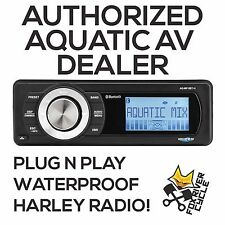 AQUATIC AV FACTORY HARLEY REPLACEMENT BLUETOOTH STEREO RADIO MEDIA PLAYER