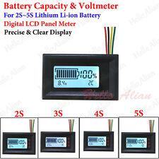 2S 3S 4S 5S Lithium Li-ion 18650 Battery Capacity Level Indicator Voltage Meter