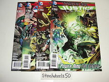 Forever Evil Justice League 4 Comic Lot DC 2014 Dark #26 Of America #10 Johns