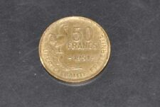 1951 france  republic 50  franc coin collectable