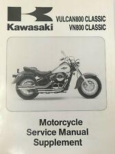 1996 Kawasaki VULCAN800 VN800 CLASSIC Service Manual Supplement