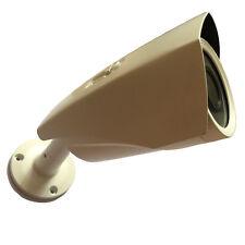 IP66 waterproof Outdoor 75mm Aluminum Security CCTV Camera Housings with bracket