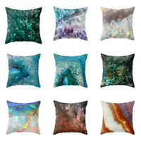 Marble Pattern Throw Cover Pillow Cushion Square Case Decor for Home Living Room