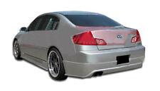 03-04 Fits For Infiniti G Sedan G35 Duraflex Sigma Rear Lip 1pc Body Kit 103301