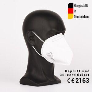 10 Stück FFP3 Halbmasken, zertifiziert CE2163 - hergestellt in Deutschland