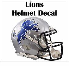"Detroit Lions 4Life  5""x6"" Car Truck Van Window Wall Vinyl Sticker Helmet Decal"