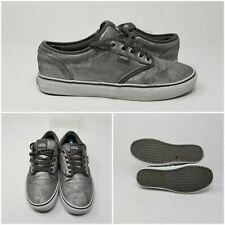 Vans Authentic Era Classic Low Top Silver Sparkle Shoes Sneakers Womens 8.5