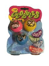 """TikTok Jukers """"GLOBBLES"""" Crayola """"New Slime!"""" 3 Assorted Colors W/Faces No mess!"""