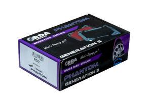 RDA Front Ceramic Pads fits TOYOTA DYNA 100 LH 80R, LH 81R 1985-1988