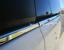 88-98 Chevy C/K Regular/Extended Cab 2Pc Window Sill Trim Chrome Stainless Steel